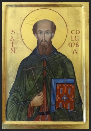 St-Columba-icon-Aidan-Hart-med