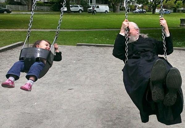 Lazar on swing