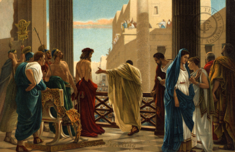 G682 Christ and Pilate