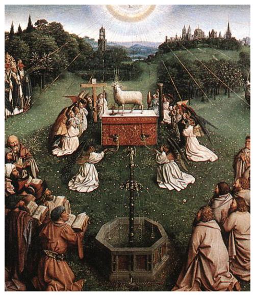 Jan_van_Eyck_The_Ghent_Altarpiece_-_Adoration_of_the_Lamb