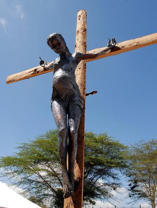 Crucified_Jens_Galschiot